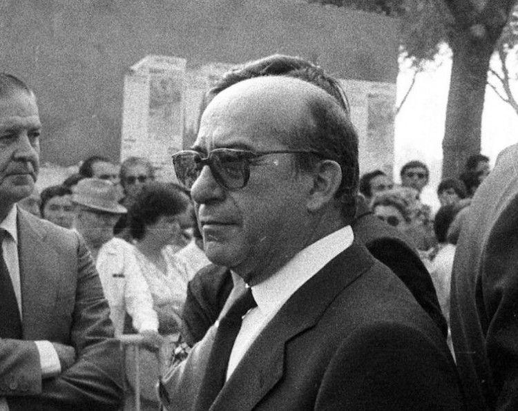 Victoriano Sayalero, el día del sepelio de Paquirri