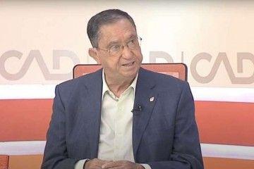 Pedro Anatael Meneses Roqué. en la entrevista en Mírame TV