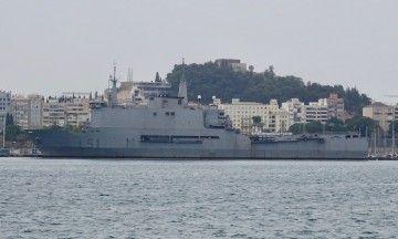 """El BAA """"Galicia"""", atracado en el puerto de Cartagena"""