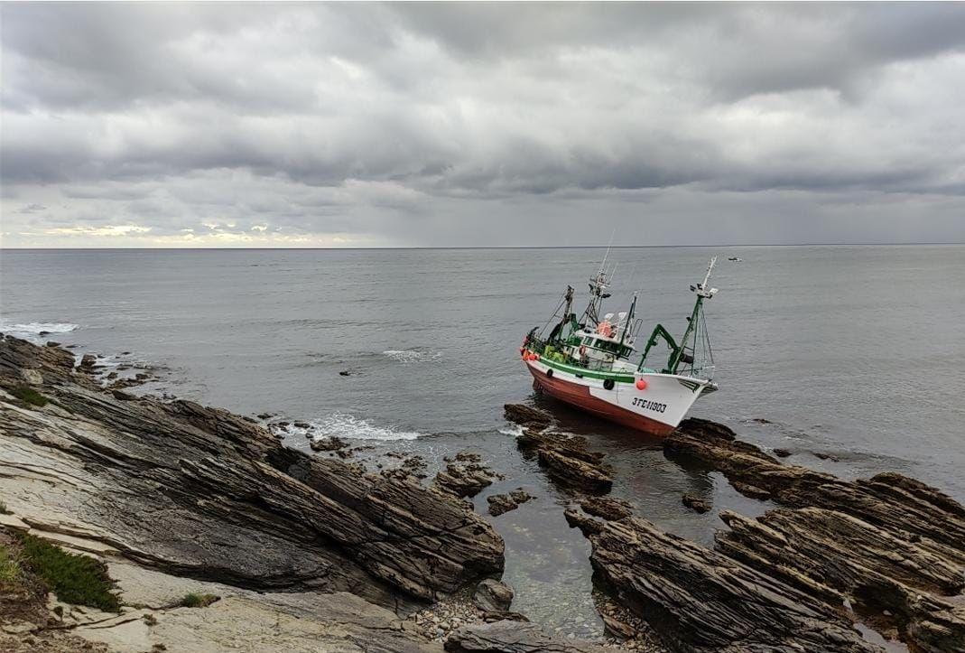 Posición en la que se encuentra el pesquero