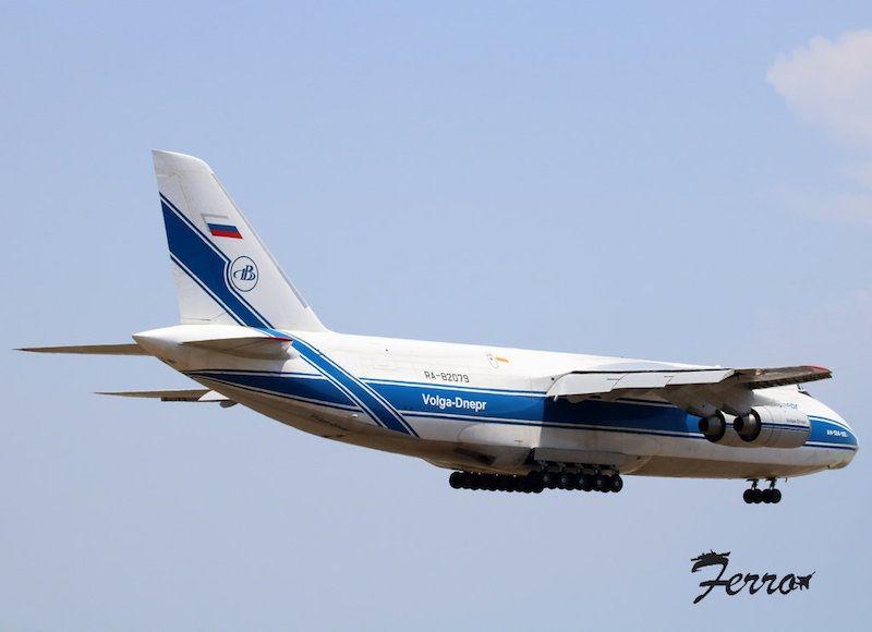 Se trata de uno de los mayores aviones cargueros del mundo