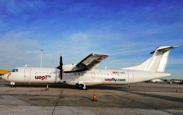 ATR-72 de la aerolínea balear Uep Fly