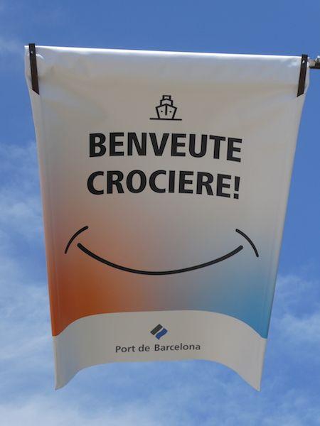 El puerto de Barcelona da la bienvenida a los cruceros de turismo