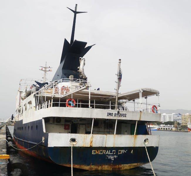 Es un buque de construcción española, en servicio desde 1998