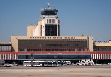 Vista parcial de la terminal T-2 del aeropuerto Madrid-Barajas