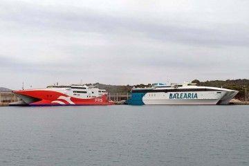 FRS y Balearia compiten en la línea Alcudia-Ciudadela