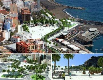 Propuesta del plan de remodelación del puerto de Santa Cruz de La Palma
