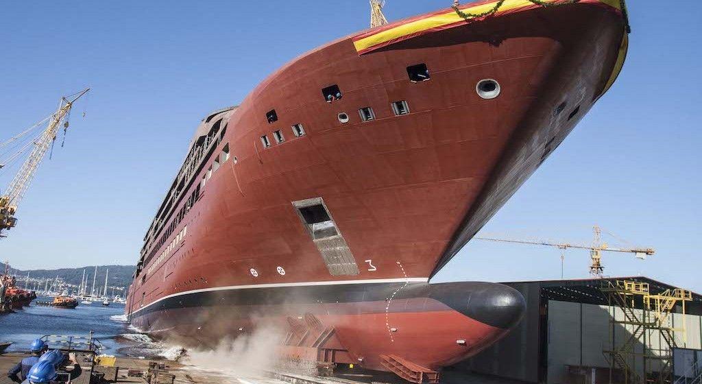 """El buque """"Evrima"""", último episodio de una gestión controvertida"""