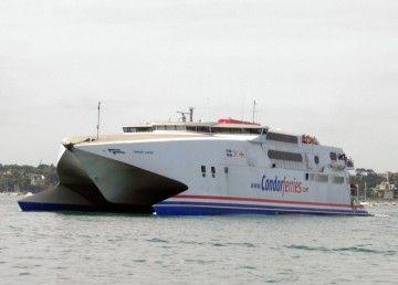 """Este es el catamarán """"Condor Rapide"""", la última adquisición de Trasmapi"""
