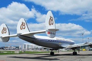 Pocos aviones han logrado este grado de elegancia en la definición de sus líneas aeronáuticas