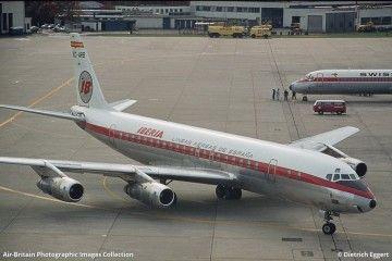 """Douglas DC-8-52 de Iberia EC-ARB """"El Greco"""""""