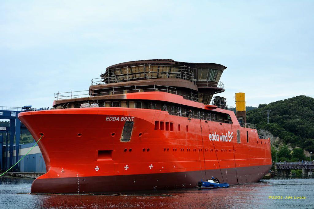 Es el primero de dos buques del mismo tipo que construye Balenciaga