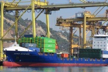 Uno de los buques alquilados por JSV Logistic