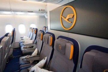Lufthansa prescinde del tradicional saludo a bordo de sus aviones