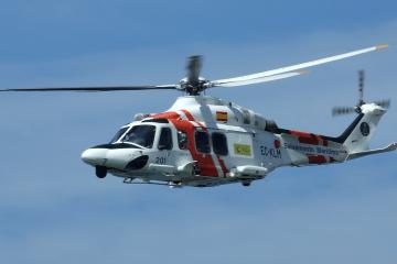 La evacuación ha estado a cargo del helicóptero Helimer 201