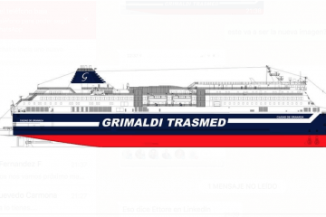 Imagen corporativa de Grimaldi Trasmed