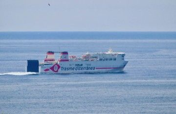 Cinco barco de Naviera Armas Trasmediterránea pasan a formar parte de Trasmed GLE