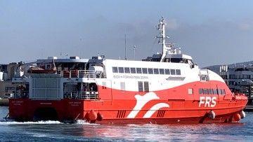 "El catamarán ""San Gwann"", de FRS Iberia"
