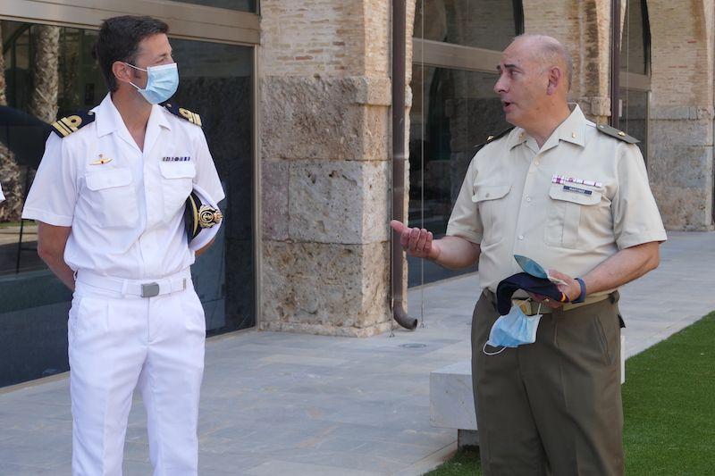 El CC Corral Iranzo y el comandante Martínez Sánchez