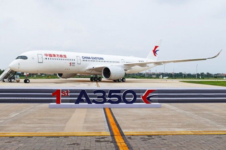 Roll out del primer Airbus A350 fabricado en China