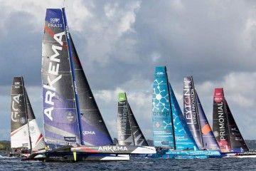 """Los siete buques """"Ocean Fifty"""" que existen en el mundo se dan cita en Canarias"""