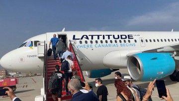 "Airbus A.319 de Lattitude Hub ""Tenerife"""