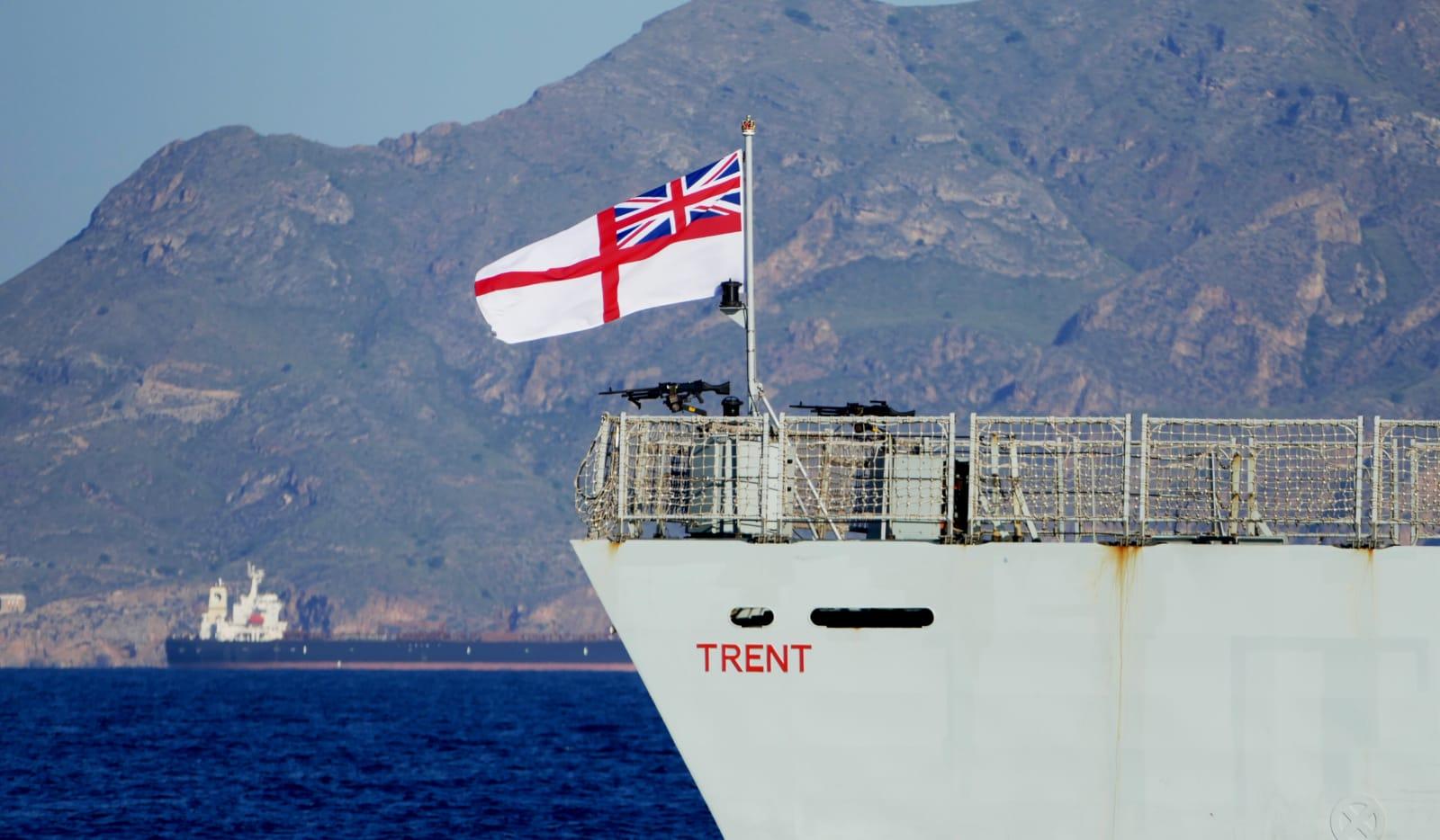 El patrullero oceánico tiene su base desde abril de 2021 en Gibraltar