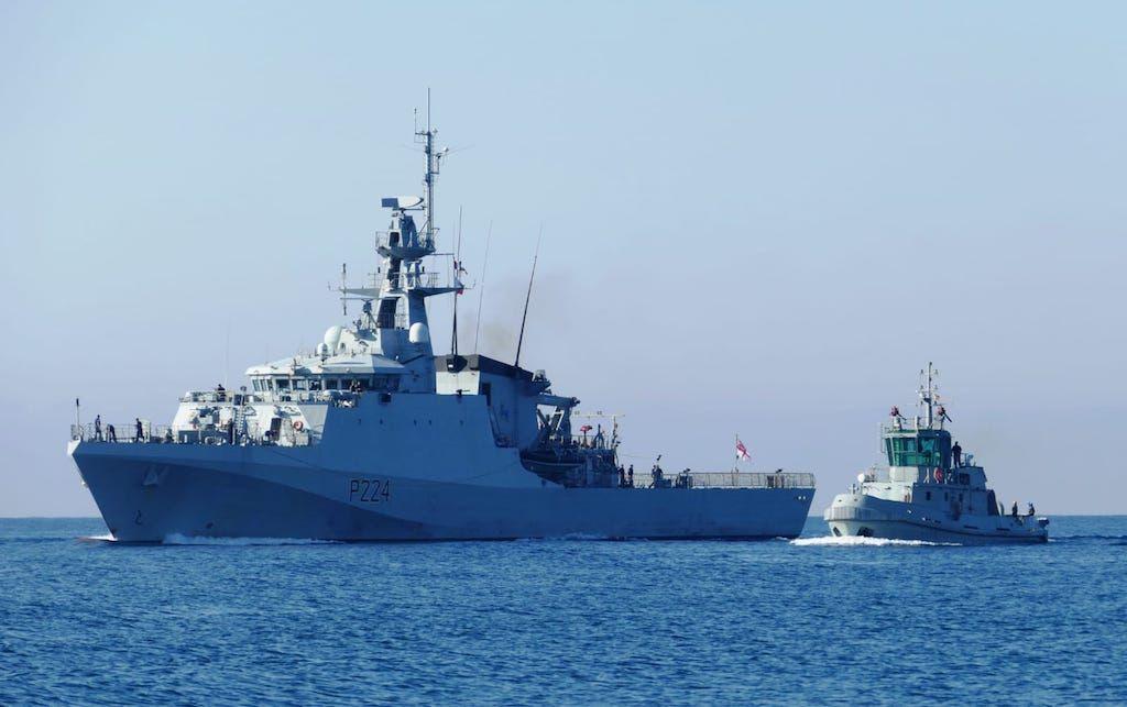 El buque de la Royal Navy llega a Cartagena en visita no oficial