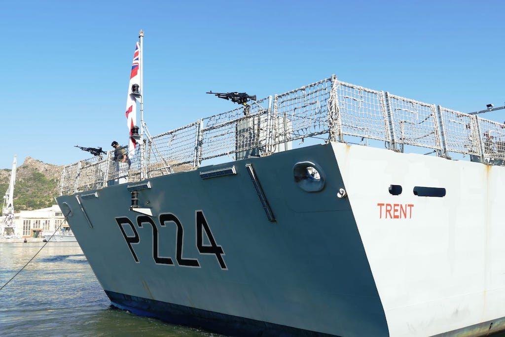 """""""HMS Trent"""", numeral 224"""