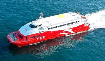 "FRS Iberia opera con el catamarán ""San Gwann"" en la línea Ibiza-Formentera"