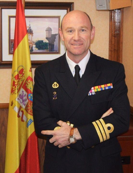 CF Manuel García Ruiz, nuevo comandante del buque-escuela