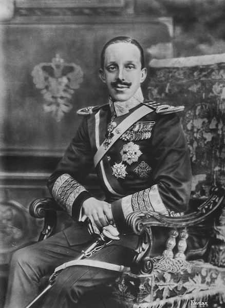 Alfonso XIII, rey de España (1902-1931)