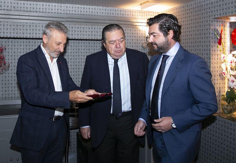 Francisco Toledo, Vicente Boluda Dos y Vicente Boluda Ceballos