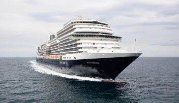 """El buque """"Rotterdam"""", en sus pruebas de mar"""